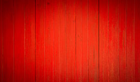 Background of red old wood Royalty Free Stock Photography