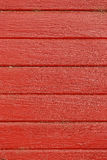 Background of red painted boards Stock Photos