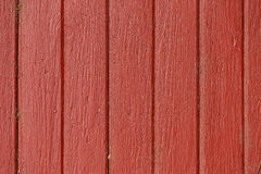 Background of red painted boards Stock Images