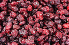 Background of red raisins Royalty Free Stock Images