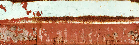 Background Red Rust Peeling Paint Royalty Free Stock Images