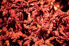 Red Sichuan pepper stock images