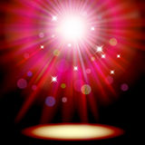 Background with red spotlight. Stock Images