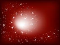 background red stars Στοκ Φωτογραφία