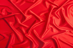 Background from a red textile Royalty Free Stock Photo