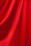 Background from a red textile Royalty Free Stock Images