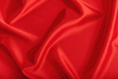Background from a red textile Stock Images