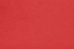 Background with red texture, velvet fabric, full frame, close-up Stock Image
