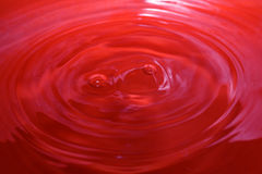Background red water drops Royalty Free Stock Photo