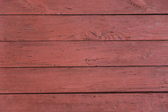 Background of red wooden planks Stock Photos
