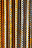 Background of the reinforcing rods Royalty Free Stock Photo