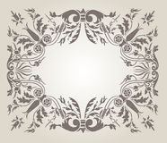 Background in the Renaissance style. Background with ornament in the Renaissance style stock illustration