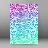 Background report brochure Cover Pages A4 style abstract Stock Image