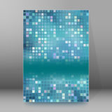 Background report brochure Cover Pages A4 style abstract Royalty Free Stock Photo