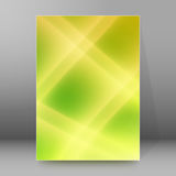 Background report brochure Cover Pages A4 style abstract glow09 Royalty Free Stock Image