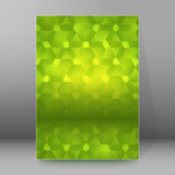 Background report brochure Cover Pages A4 style abstract glow48 Royalty Free Stock Image