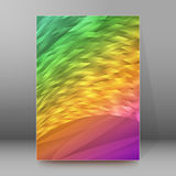 Background report brochure Cover Pages A4 style abstract glow58 Stock Images