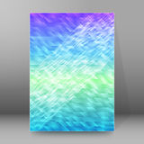 Background report brochure Cover Pages A4 style abstract glow Stock Photography