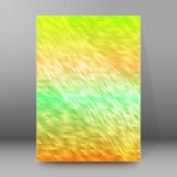 Background report brochure Cover Pages A4 style abstract glow56. Abstract background advertising brochure design elements. Blurry light glowing graphic form for Royalty Free Stock Photography