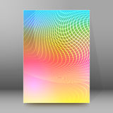 Background report brochure Cover Pages A4 style abstract glow96 Royalty Free Stock Image