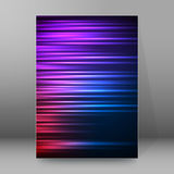 Background report brochure Cover Pages A4 style abstract glow70 Royalty Free Stock Image