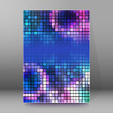 Background report brochure Cover Pages A4 style abstract glow Royalty Free Stock Image