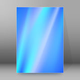 Background report brochure Cover Pages A4 style abstract glow29 Stock Photography
