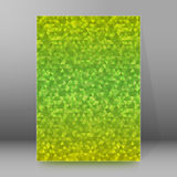 Background report brochure Cover Pages A4 style abstract glow44 Stock Photo