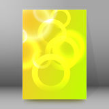 Background report brochure Cover Pages A4 style abstract glow32 Stock Image