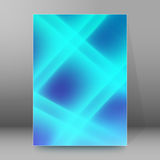 Background report brochure Cover Pages A4 style abstract glow11 Royalty Free Stock Photos