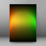 Background report brochure Cover Pages A4 style abstract glow50 Royalty Free Stock Photos