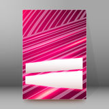 Background report brochure Cover Pages A4 style abstract glow90. Pink background advertising brochure design elements. Blurry light glowing graphic form for Stock Images