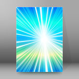 Background report brochure Cover Pages A4 style abstract glow93 Stock Photo