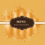 Background for restaurant, cafe, bar Royalty Free Stock Images