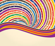Background retro. Colored abstract template in retro style Royalty Free Stock Image
