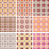 Background of retro plaid pattern. Vector Royalty Free Stock Images