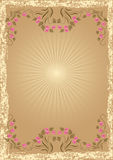 Background in retro style Royalty Free Stock Image