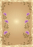 Background in retro style Royalty Free Stock Images