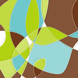 background retro swirl Στοκ εικόνες με δικαίωμα ελεύθερης χρήσης