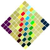 Background of rhombuses stock illustration
