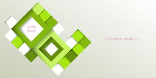 Background with rhombuses. Vector illustration Stock Images