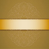 Background with ribbon. Royalty Free Stock Images
