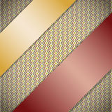 Background with ribbons. Stock Photography