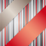 Background with ribbons. Royalty Free Stock Photography