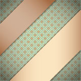 Background with ribbons. Royalty Free Stock Image