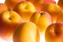 Background with ripe apricots Royalty Free Stock Photos