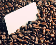 Background Of Roasted Coffee Beans Stock Image