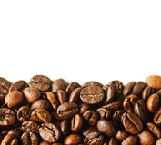 Background Of Roasted Coffee Beans Stock Photography