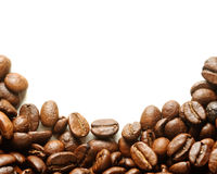 Background Of Roasted Coffee Beans Stock Photos