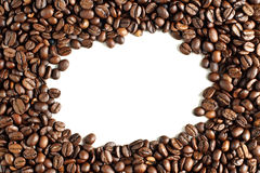 Background Of Roasted Coffee Beans Royalty Free Stock Photos